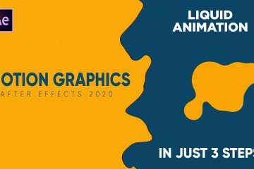 Motion graphics Adobe After Effects 2020