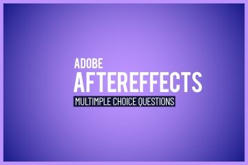 Adobe After Effects MULTICHOICE